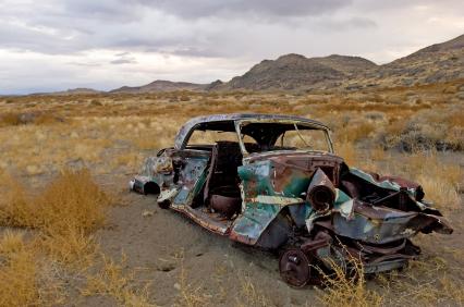 California Desert Car