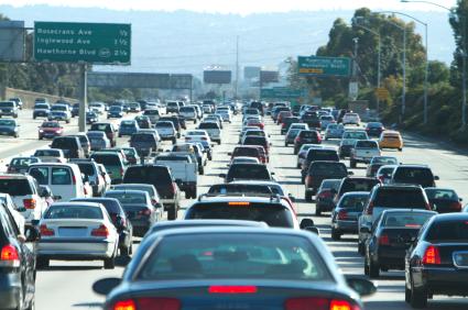 Cars Traffic LA