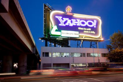 Yahoo INC! Neon Sign