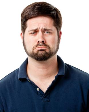 Male Portrait Frown