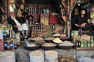 Shop in Kabul, Afghanistan