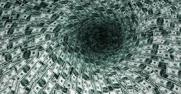 Crisis-money-pit