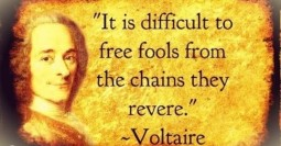 Voltaire Candide Freedom