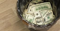 dollar-trash
