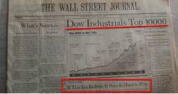 "WSJ: ""Dow Industrials Top 10000"" & ""If This Is a Bubble, It Sure is Hard to Pop"""